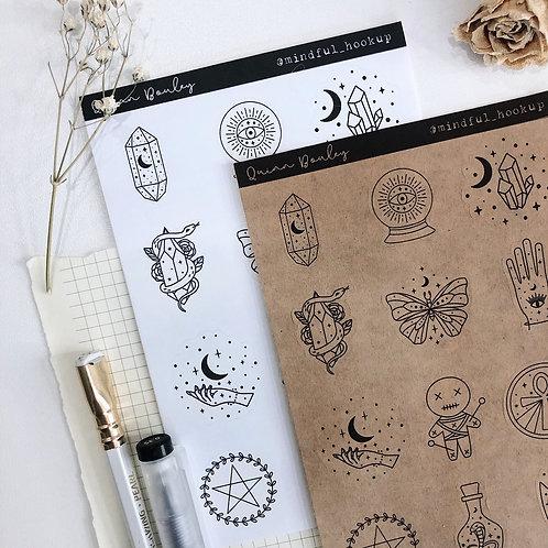 Magic & Mystery II Stickers