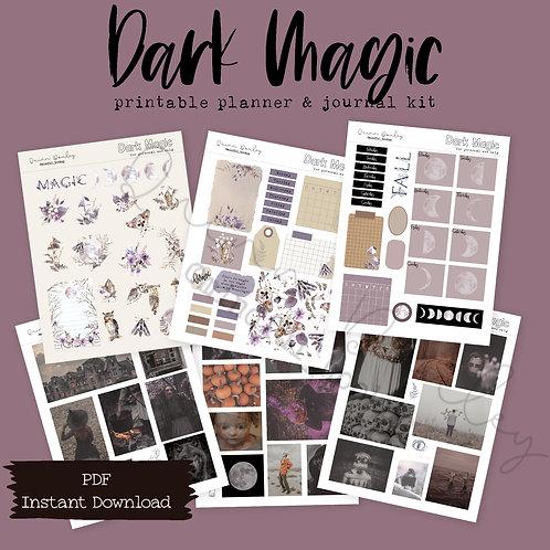 Dark Magic Journal and Planner Kit