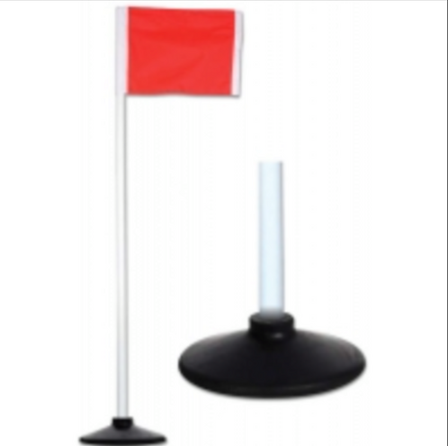 Rubber Base Flags