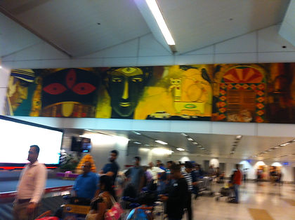 DEHLI AIRPORT PAINTINGS.JPG