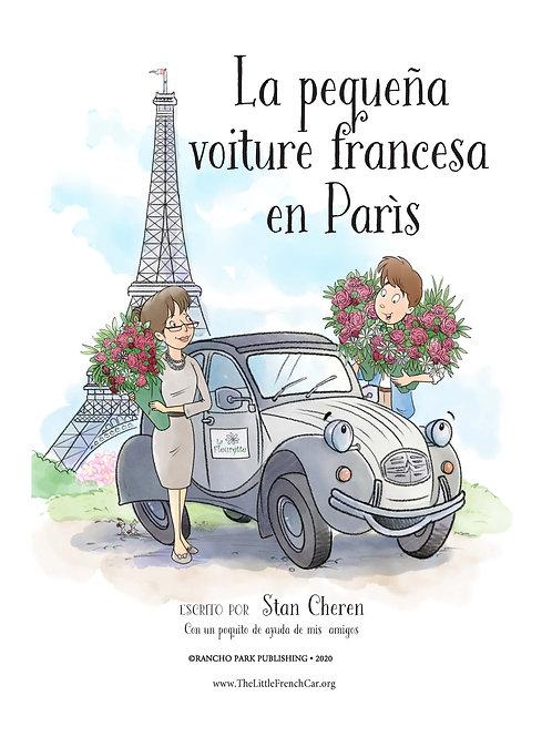 La pequeña voiture francesa en París
