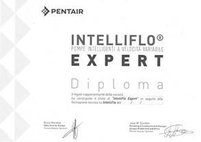 Certificazione Mirani Piscine