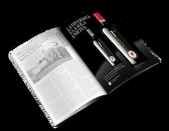 Pubblicità su rivista mondo del vino