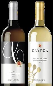 Bottiglie di vino - Cayega - Packaging design