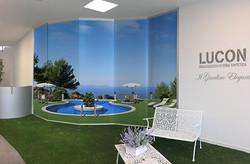 Pannelli showroom Lucon