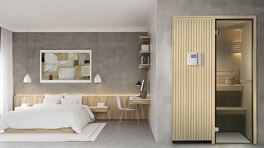 Sauna classica Bedroom