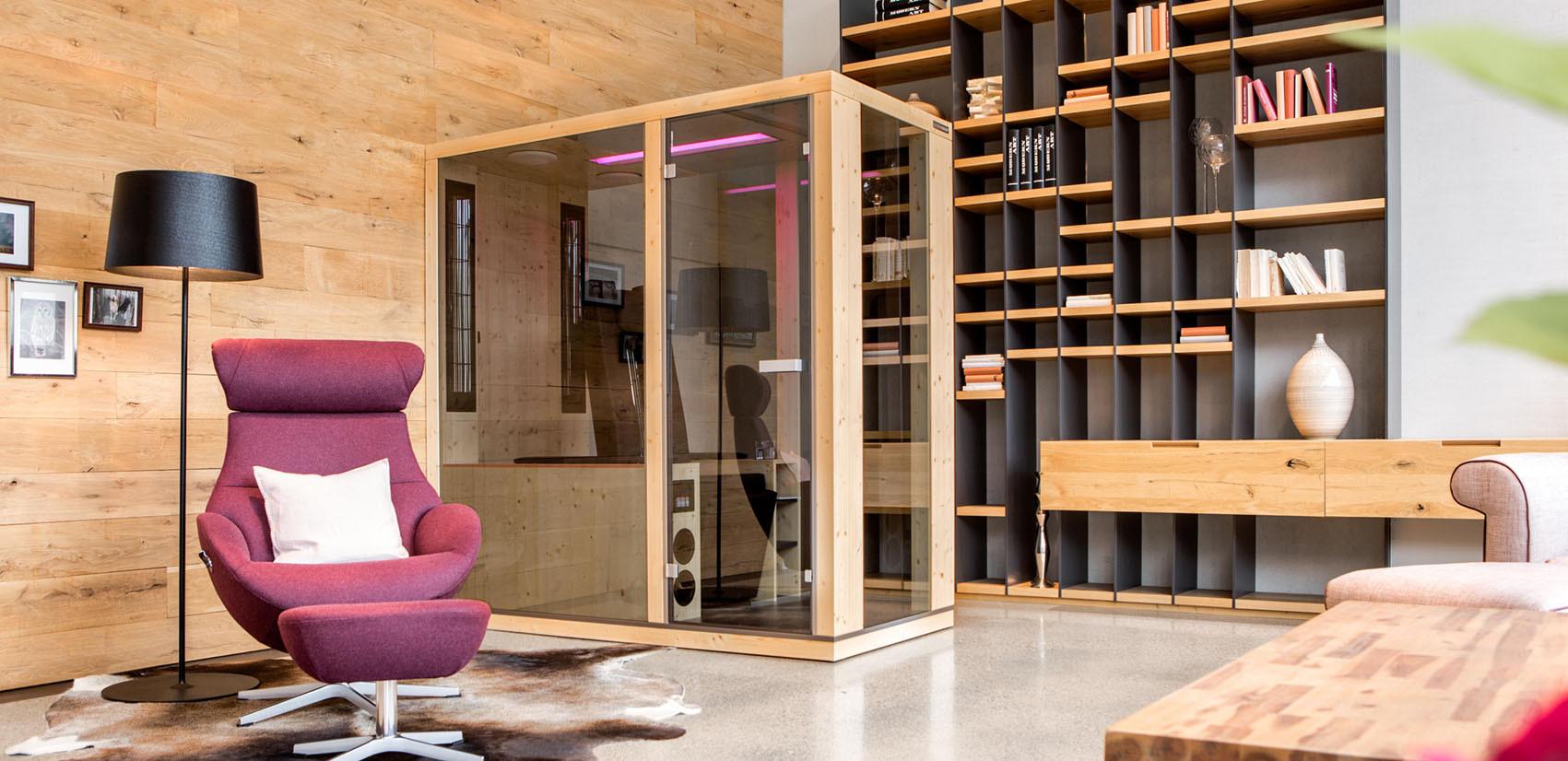 Sauna In Casa Consumi cabine infrarossi   il nuovo modo di vivere la sauna
