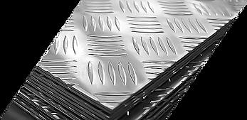 Lamiere mandorlate Ocat Alluminio
