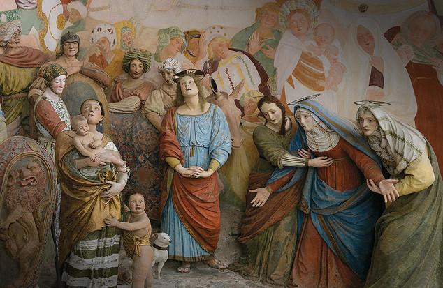 Cappella XXXVIII, Sacro Monte di Varallo