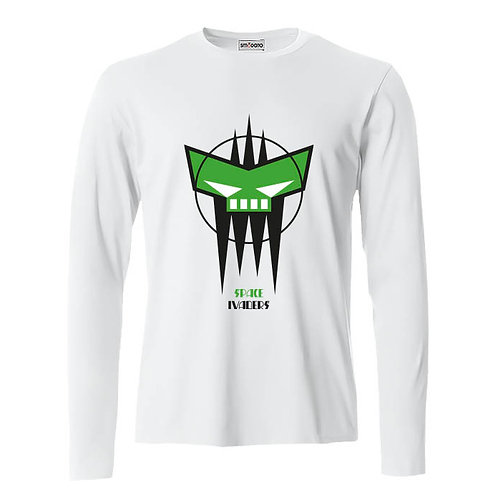 SPACE INVADERS GREEN