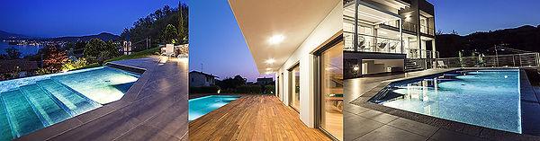 illuminazione mirani piscine