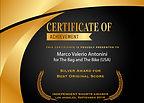 Marco Valerio Antonini Best Original Score