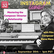 ELENA MARO INTERVIEW STAGE 32 COMPOSER FILM TELEVISION WOMAN COMPOSER LOS ANGELES