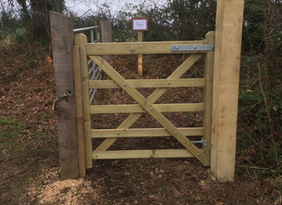 Check out the gate!