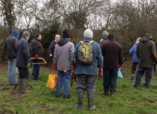Volunteers do great work on Mallett's Meadows