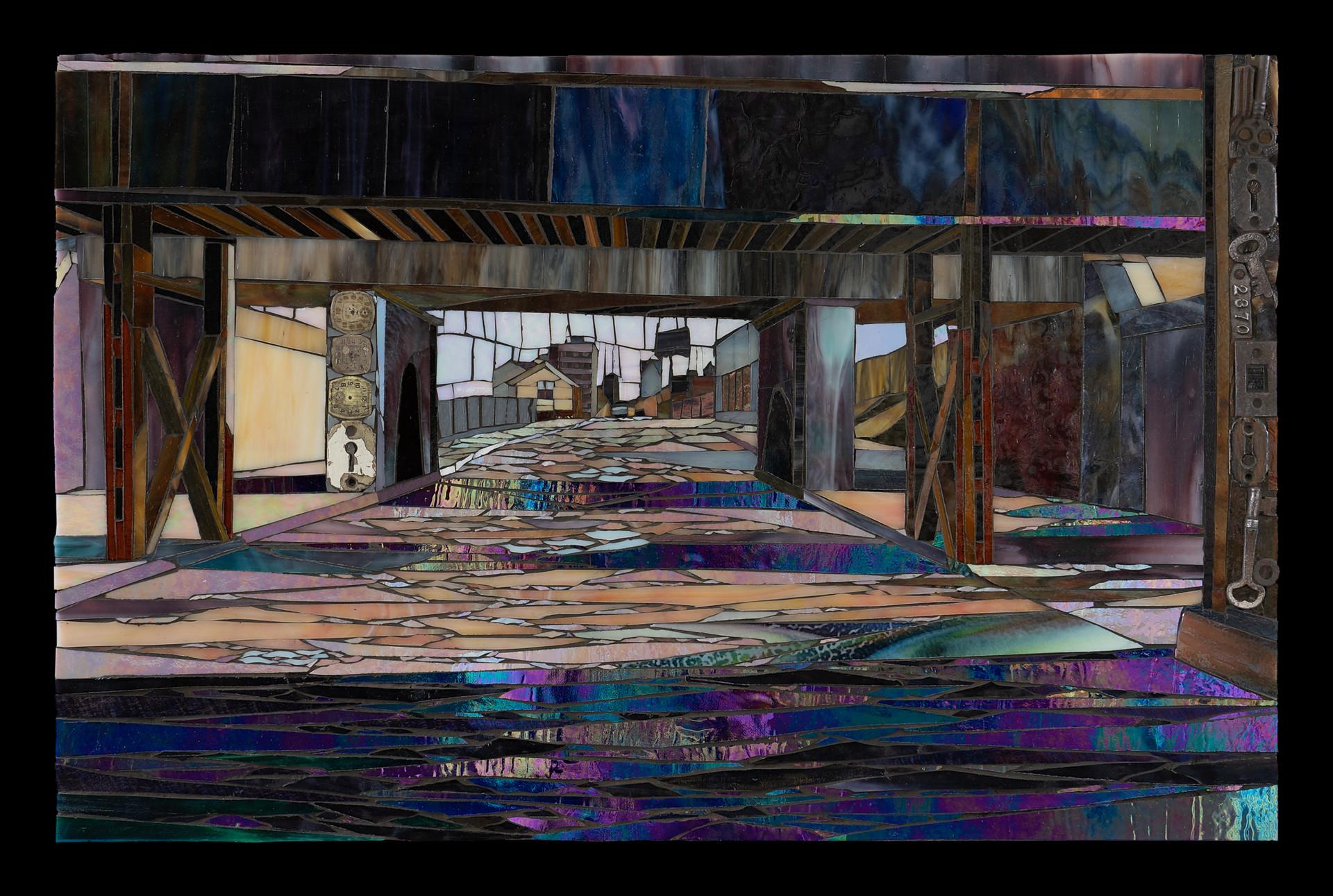 John R Under Bridge