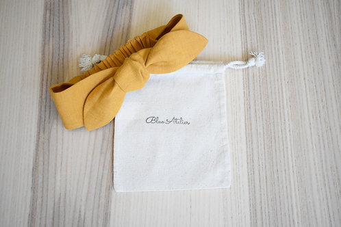 Kids bandana Linen Mustard