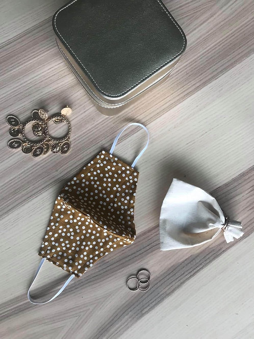 Dots collection, Mustard