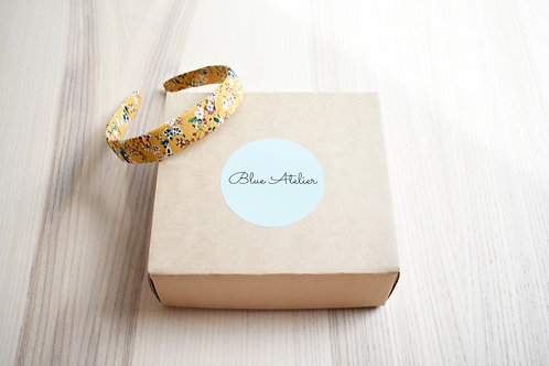 Headband, Spring collection, Yellow Posy