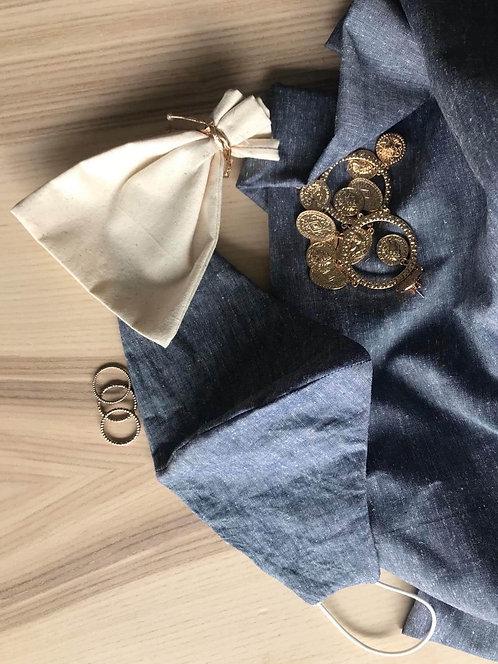 Plain collection, Linen light blue