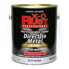 X-O Rust Direct to Metal Gloss Oil Base Paint - 8 oz.