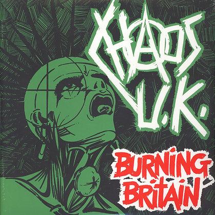 Chaos UK - Burning Britain (double vinyl lp)