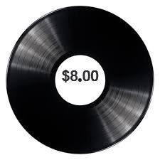 $8.00 Vinyl Records