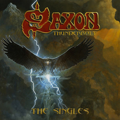 Saxon - Thunderbolt, The Singles (5 single box set)