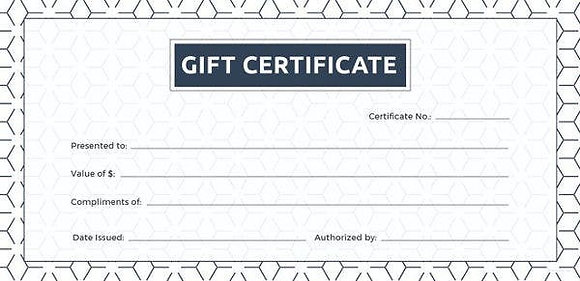 RecordSmith Gift Certificate
