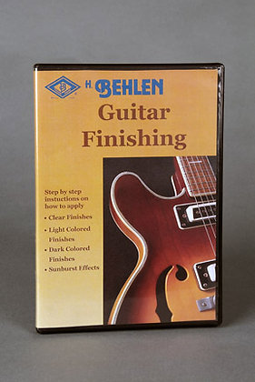 D900-0070 Guitar Finishing (DVD)
