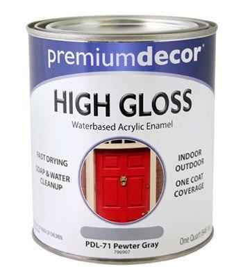 Premium Decor High Gloss Finish - 8 oz.