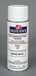 M102-0410 Pre-Catalyzed Clear Lacquer (aerosol)