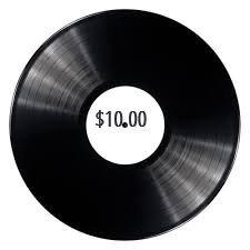$10.00 Vinyl Records