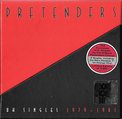 "The Pretenders -UK Singles 1979-1981 (7"" singles box set)"