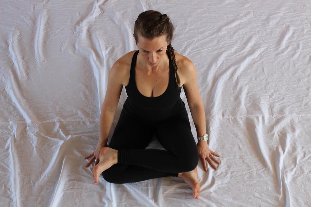 Justine Janssen Embody Wellbeing Yin Yoga