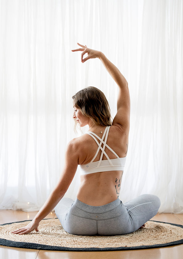 Justine Janssen Yoga Teacher Embody Wellbeing