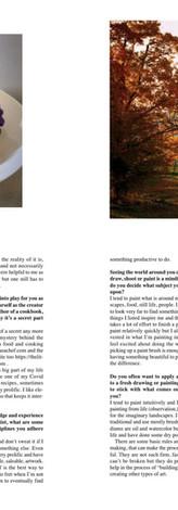 Keith Emerling Artist, Artful Mind Artzine, Oct-Nov 2020 Page 5