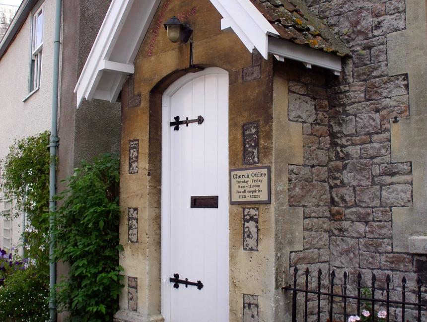 Church Office plaque