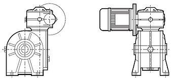 CRMI D, Motorredutor Duplo STM CRMI,Motorredutor Duplo STM,Motorredutor Duplo, Redutor de Velocidade Duplo, Redutor Duplo, Redutores de Velocidade Duplos, STM CRMI, STM do Brasil, STM do Brasil Redutores, Caixa de Redução Dupla