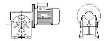 RMI S, Motorredutor STM RMI,Motorredutor STM,Motorredutor, Redutor de Velocidade, Redutor, Redutores de Velocidade, STM RMI, STM RMU, STM RI, STM CRMI, STM CRI, STM do Brasil, STM do Brasil Redutores, Caixa de Redução