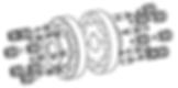 Acoplamento KTR REVOLEX, KTR REVOLEX, Acoplamento de Pinos, Teteflex, Ameridrive, Buchas, Acoplamento, Acoplamento Transmotécnica, Acoplamento flexível, Acoplamento TeTeFlex