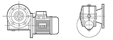 RMI FL, RMI F1, RMI F2, RMI F3, Motorredutor STM RMI,Motorredutor STM,Motorredutor, Redutor de Velocidade, Redutor, Redutores de Velocidade, STM RMI, STM RMU, STM RI, STM CRMI, STM CRI, STM do Brasil, STM do Brasil Redutores, Caixa de Redução
