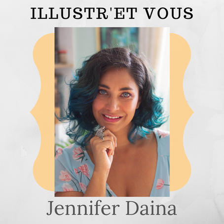 Illustr-et vous ! Jennifer Daina