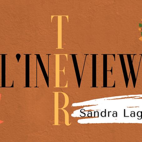 L'inTERview : Sandra Laguilliez