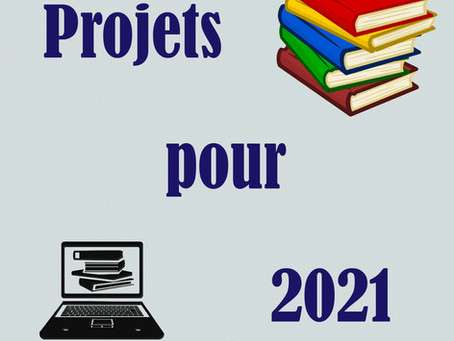 Mes projets pour 2021
