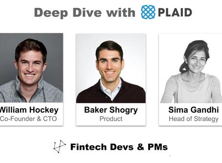 Deep Dive w/ Plaid Co-Founder & Team