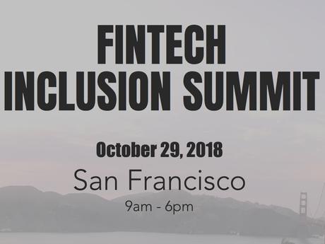 Fintech Inclusion Summit (Recordings) - 2018