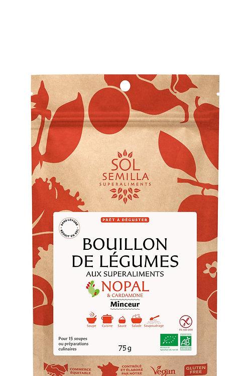 """BOUILLON DE LÉGUMES """"MINCEUR"""""""