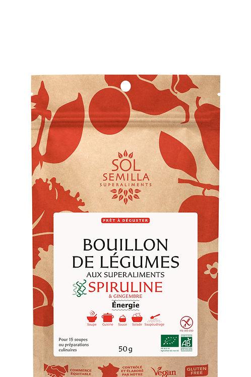 """BOUILLON DE LÉGUMES """"ÉNERGIE"""""""