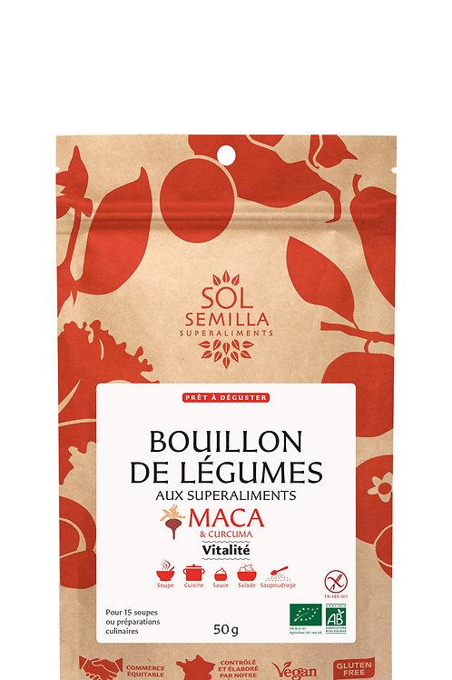 """BOUILLON DE LÉGUMES """"VITALITÉ"""""""